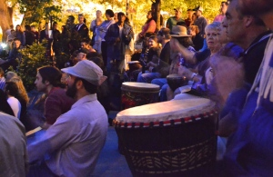 People play djembes from all walks of life.