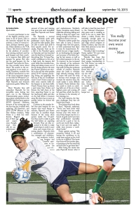 Issue 3 Sports Page 11